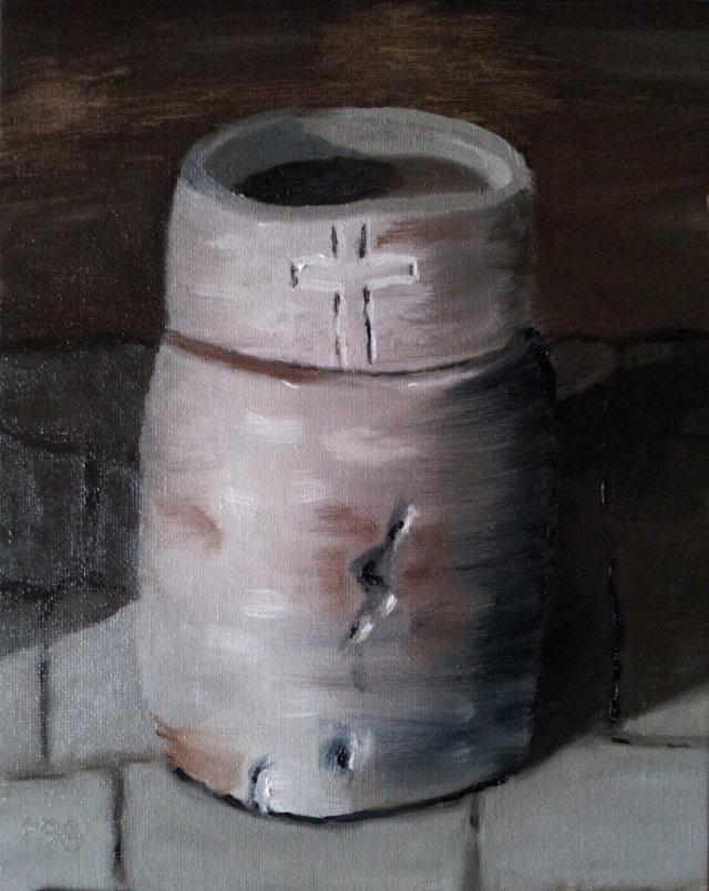 Le Benetier - Oil