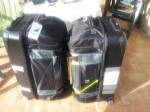 Art Bags Awaiting UPS