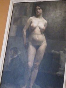 Suzanne Valadon painted by an unknown artist