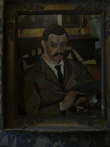A copy of her painting