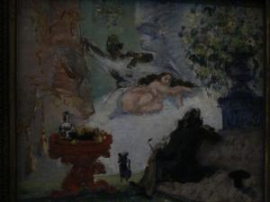 Paul Cezanne - Une Olympia Moderne