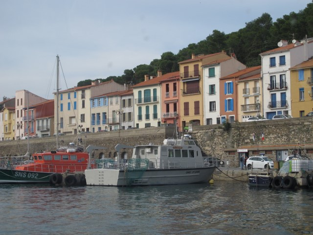 Port Vendres Fishing Boats and Houses