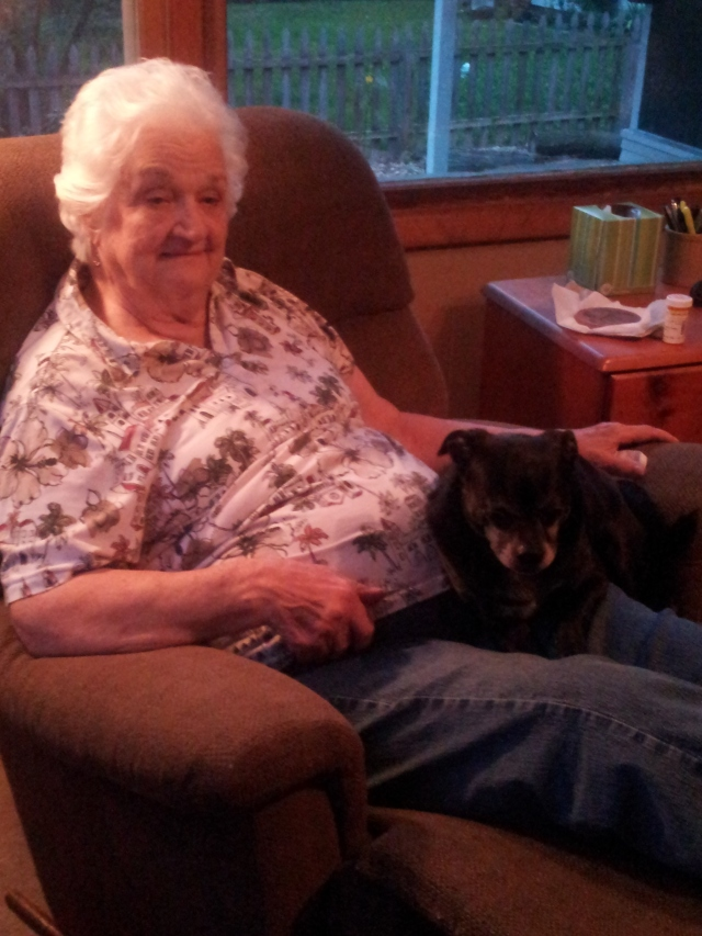 Aunt Joyce an Ruh Roh