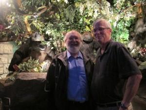 Doug and Paul Among the Apes